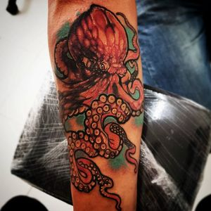 Tatuaje en antebrazo