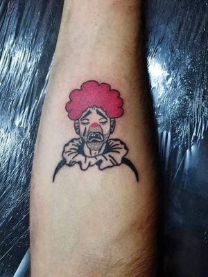 #clowntattoo