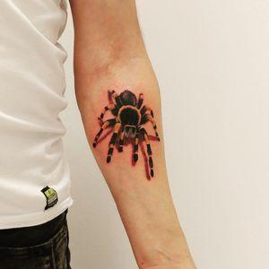 #3dtattoo #spider