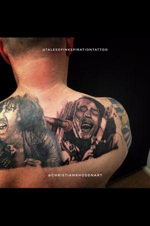 Bob Marley portrait on bill