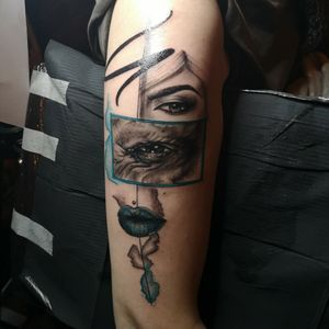 Dedicated to Picasso, my design. 😍 #tattoart #art #picasso #picassotattoo #tattoo #tattooed #tattooartist #tattooart #tattoostyle #tattoolove #realistictattoo #abstracttattoo #tattoolife #inkedgirls #inked #tatts #inkedmag #panteraink #cheyennehawkpen #armtattoo #intenzepride #intenzeink #girlstattoo