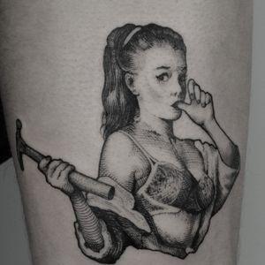 #blackworker #gilelvgren #gilelvgrenpinup #blackworktattoo #traditionaltattoo #inkedmagazine #tattooink #tattoolisboa #blxckink #blacktattoomag #onlyblackart #contemporary #tttism #blackworkerssubmission #blackinkmag #pinupgirl #pinuptattoo #pinuptattoos #tattooartist #tattooist #blacktattooing #blackworksubmission #blackart #blackink #blckwrkrs #martini #martinitattoo #lisbontattoo #tattoolisbon #lissabon