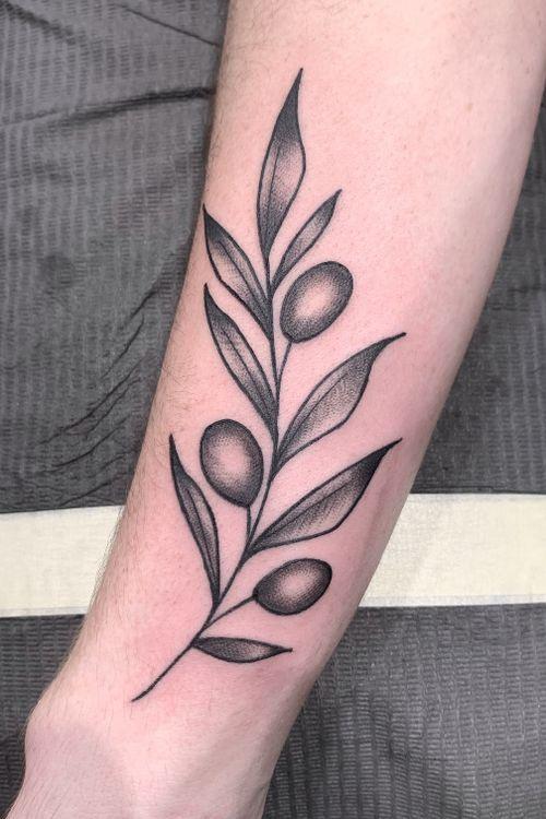 #olivebranch #PlantTattoo