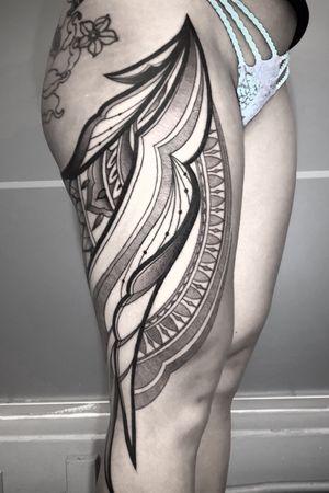 Tattoo from Simon Halpern