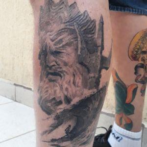 Tattoo cicatrizada! +- um ano.