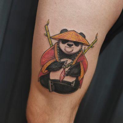 Panda #panda #pandatattoo #tattoopanda #ink #inked #Tattoodo #colortattoo #tattoo #tattoostyle