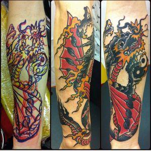Dragon freehand