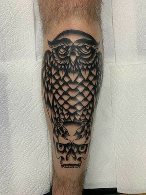 First session on a this bird of prey! Blasted the whole shin!