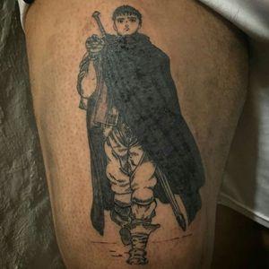 Guts leaving the band of the Falcon #black #manga #anime #mangaanime #mangatattoo #Guts #berserk #blackandwhite #blackandgreytattoo #blackandgrey #argentina #argentinatattoo