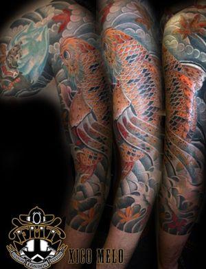 Koy Dragon sleeve