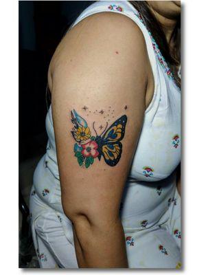 #getinked #inked #getinkD#inkD #tattoodo #itattooyou #butterflytattoo
