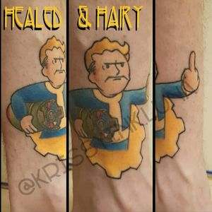 Fall out fansss!!!!  Healed and well almost hairy