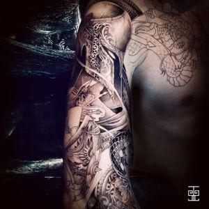 Tattoo by Starasian Tattoo-Team