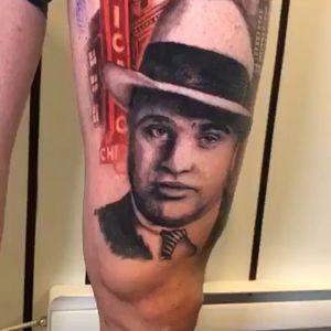 I'll post a better video later. • @nestor_ace Working on this fun leg sleeve • • • • • •#tattoo #tatt #tatts #tatted #tattooaddicts #vancouver #vancouvertattooartist #vancouvertattoo #westcoast #bogota #bogotatattoo #surreybc #langleybc #coquitlambc #richmondbc #ink #inked #realisticink #intenzeink #vancouverisland #granvilleisland #granville #604 #mainst #favoritemoviecharacter #movies #gangster #calgary #calgarytattoos