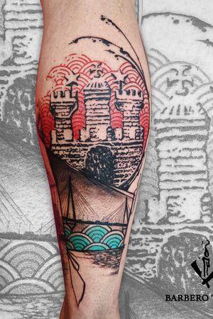 Tattoo done in Hamburg at Stich Hamburg