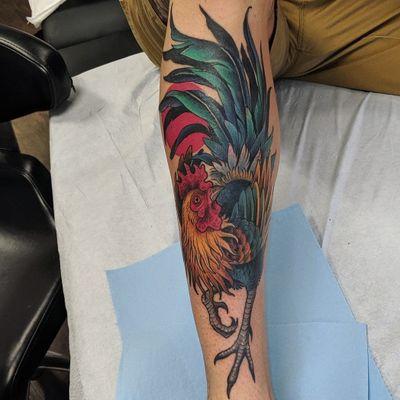 #tattoo #tattoolife #tattooart #saniderm #envyneedles #rosewatertattoo #tattoos #tattooartist #art #ink #inked #lynntattoos #inkedmag #portland #portlandtattooers #portlandtattoo #pdx #pdxartists #pdxtattooers #pdxtattoo #tattooed #tatsoul #fusiontattooink #fkirons #bestink #rooster #tattoosnob #stencilstuff #birdtattoos #eternalink