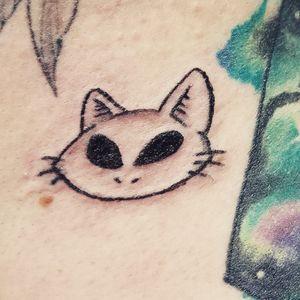 Teeny alien cat!