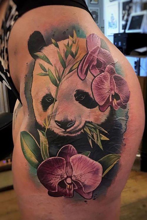 Panda by Freddie Albrighton 🐼