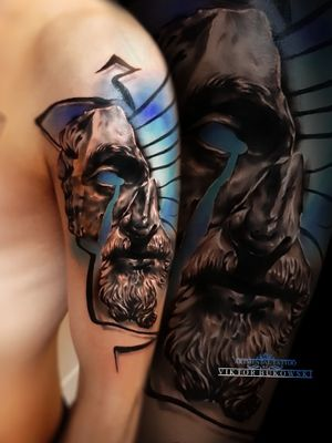 ARTMENTAL TATTOO Bratislava/Slovakia #art #tattoo #tattoos #ink #inked #igdaily #photooftheday #tat #instagood #artlovers #worldofartists #bestartfeatures #inkedup #protectyourart #kwadroncartridges #protonpen #slovakia #bratislava #follow #color #colorfulltattoo #blackandgrey #blackandgreytattoo