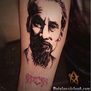 Ho chi minh tattoo