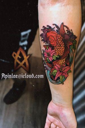 Japanese neo traditional tattoo