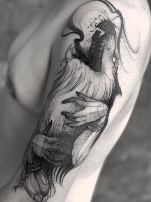 Wolf Fenrir for Mark🔪 #sketch . . . . . . 📩Appointments/Citas: anibalbookings@gmail.com . . . . . #fineart #sketch #persian #blackworkershero #inkstinctsubmission #blackworkerssubmission #instasrt #artwork #tattooinkspiration #tattoo #arts #TATTOOTODO #anibal_tattoo #tattooartist  #blxink #stabmegod #cdmx #bogota #dotstattoo #skinartmag #dotwork #cheyennetattooequipment @tattoo.colombia1 @tatuadoresmexicanos @tatuadorescolombianosoficial @thebesttattooartists @blackworkers @blxckink @tattoos_of_inztagram @saniderm @equilattera @silverbackink @tattoos_of_inztagram @fytcartridges