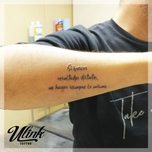 #text #phrases #armtattoo