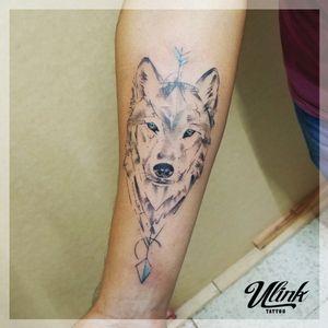 #wolf #wolftattoo #armtattoo #sketch