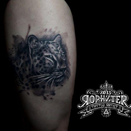 Jaguar Tattoo #jaguartattoo #jaguar #animaltattoo #blackandgreytattoos
