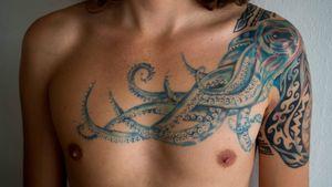 Octopus Tattoo by Tattoo Giovanett