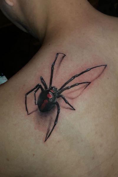 #Realistic #Black #widow #spider