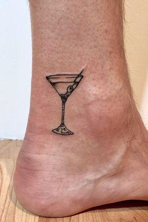 Dirty martini 🍸