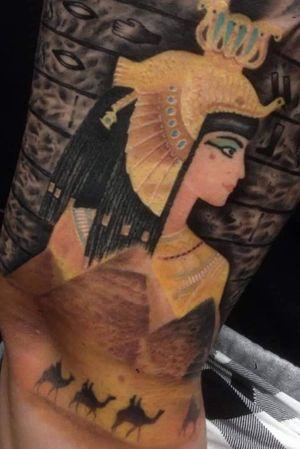 #Cleopatra #fullcolor #tatouage #tattoo2me #ink