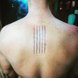 Thank you my customer. 🙏🙏🙏🙏🙏🙏 #art #artwork #artist_community #tattoo #tattoos #tatuaje #tattooart #tattooartist #ink #inked #potn #potd #bangkok #udomsuk #asiantattoo #asianart #smalltattoos #sakyant #krabi #railaybeach