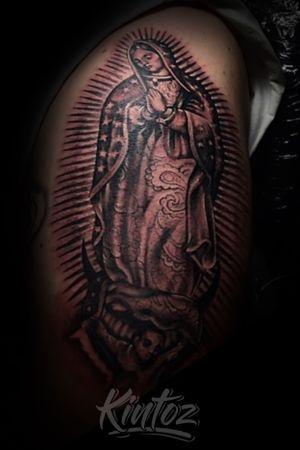 Virgen de Guadalupe Tattoo Session #atlanta #atl #tattoo #tattoos #blackandgreytattoo #blackandgreytattoos #ink #atlantatattoos #atlantatattoo #tattooed #tattoosforgirls #tattoolife #chicano #mexican #clown #tattooartist #tattooart #tattooapprentice #tattooshop #singleneedle #blackandgrey #ink #girl