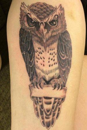 Owl Oldie but goody on my best friend Sara
