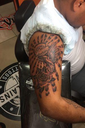 Ink villains tattoos :tattoos done by Migo