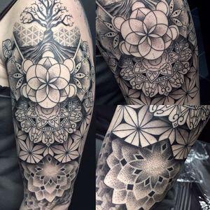 #geometrictattoo #mandala #pattern #klodidoda_tattooist #stuttgart
