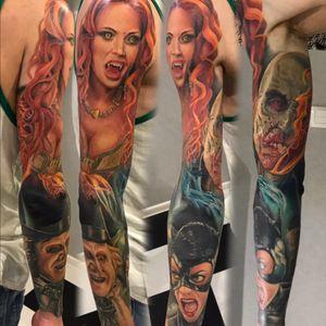 #tattooinrussia#inkmachines#worldfamousink#eternalink#fusionink#stencilstuff#colortattoo