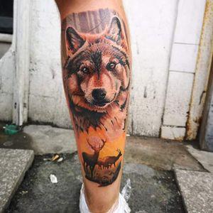 #Sunrise #Wolf . . . . . #MrWhiteSnakeTattoo #Bakutattoo #tattoouk #tattoo #inked #ink #tatuaz #portsmouth #southampton #southamptontattoo #southampton #portsmouthtattoo #poland #hampshiretattoo #totaltattoomagazine #FreshlyInkedMag #deertattoo #deer #forest #tattoos #tattooartist #electrumstencilprimer #foresttattoo #tattooidea #wolf #portrait #meadow