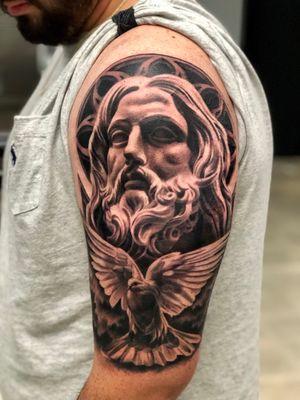 Bernini Jesus / Dove