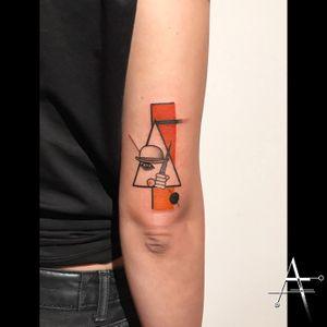 A Clockwork Orange... . For custom designs and booking; alperfiratli@gmail.com #aclockworkorange #geometrictattoo #geometric #colortattoo #colorful #minimal #tattoo #tattooartist #tattooidea #art #tattooart #tattoooftheday #ink #inked #customtattoo #customdesign #tattooist #dotwork #film #poster #linework #surreal #surrealism #movie #abstracttattoo #abstractart #surrealart #movietattoo #kubrick #oakland #stanleykubrick #clockworkorange