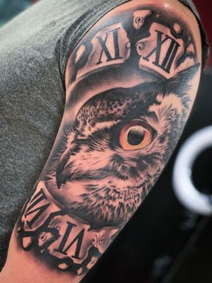 #owltattoo  #tattooartist #tattoo #detroittattooartist