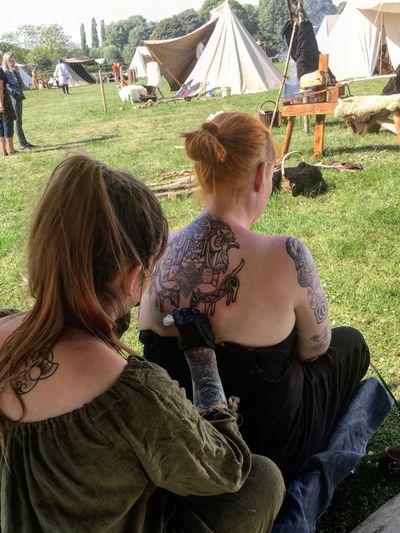 I work and live at viking markets over the summer, I travel all over Scandinavia ............ #handpoke #handpoketattoo #vikingtattoo #Vikings #vikingart #dotwork #dotworktattoo #stickandpoke #sticknpoke #iceland #icelandic #rune #runetattoo #traditional #blackwork #nordic