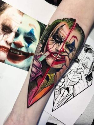 #JokerTattoos #jokertattoo #Joker #scar #knifeblade #crazytattoo #crazy #amazingtattoos #amazingink #batmanjoker #batmantattoo