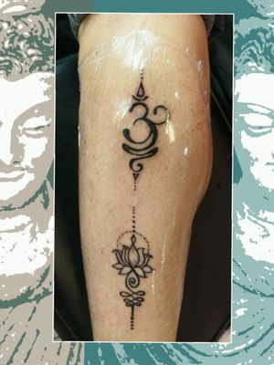 #aumtattoo #mandala #MantraTattoo #tatuajeArad
