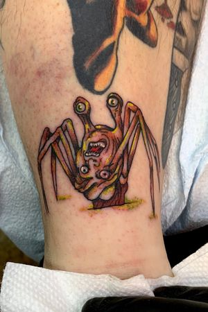 Spider head from John carpenters the thing