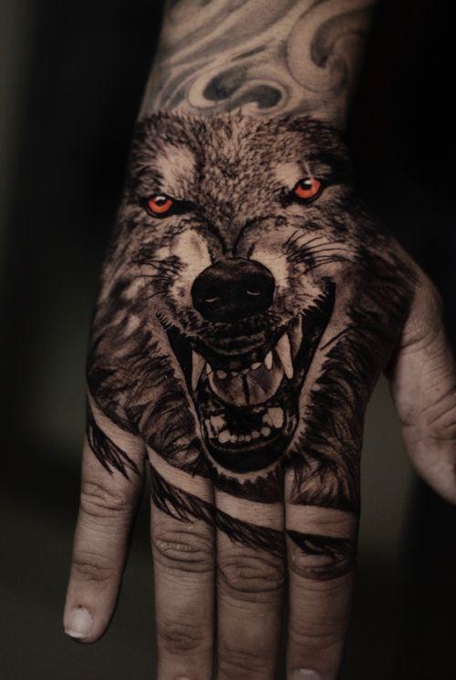 #wolf #blackandgrey #blackandgreytattoo