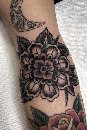 Mandala Dutch flower for Maria