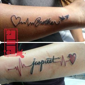 Couple of small tattoos done on clients...thanks for looking. #daintytattoo #femininetattoo #prettytattoo #smalltattoo #custom #original #byjncustoms